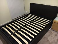 Double Storage Ottoman Bed Frame