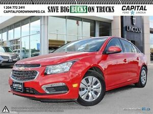 2016 Chevrolet Cruze LT *Rear Cam-Bucket Seats*