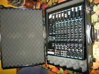 soundlab professional model spm 1202 mixer with flight case in great condition £90