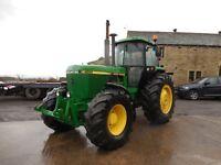john deere 4255 tractor