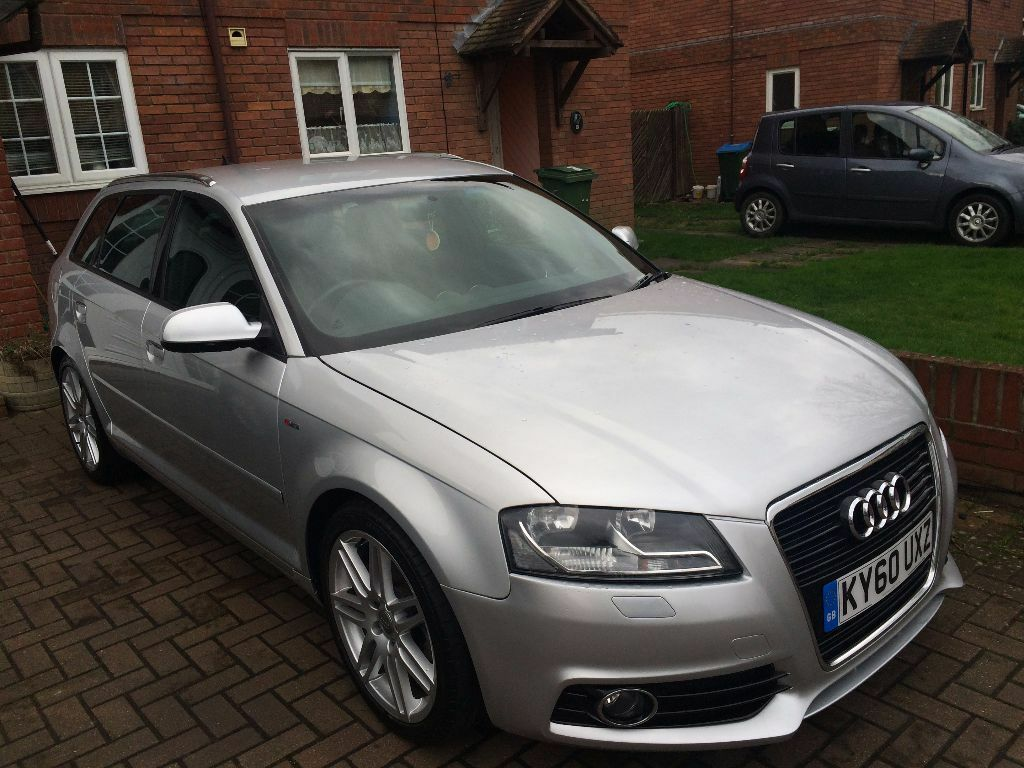 2010 audi a3 s line 1 4 tfsi petrol silver 5dr 7g s tronic f1 paddles 40k miles 6995 in. Black Bedroom Furniture Sets. Home Design Ideas
