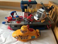 Imaginex Ship, Helicopter and Submarine