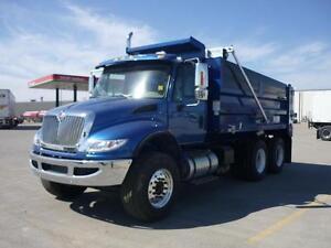 2016 International 7400 6x4, New Gravel Truck