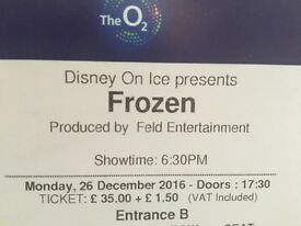 4x Frozen on Ice 18.30 Boxing Day
