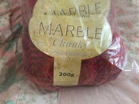 5 Brand new James Brett chunky marble yarn wool