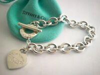 Return to Tiffany charm bracelet