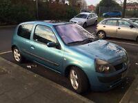 2003 Renault Clio billabong 3dr 1.4ltr petrol £295 ono