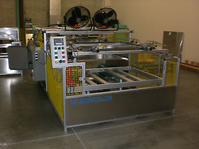 Sibe Automation Vacuum Forming Machine 48x48 Thermoforming Automatic
