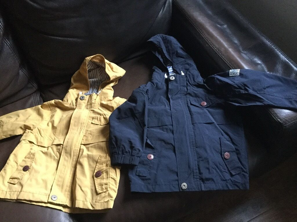 Pair of boys jackets
