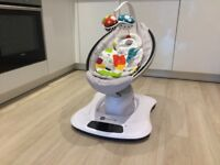 4moms MamaRoo with Newborn Insert - Like New Baby Rocker - Cost over £270