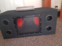 Mutant NW280SP amplifier and splX suboofer