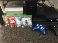 Xbox one with kinect, 2 controllers and 4 games boxed offers please