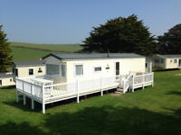 Lovely 3 bedroom static Holiday caravan near Newquay Cornwall in MAY JUNE JULY SEPTEMBER Indoor Pool