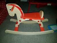 Wooden horse 🐴