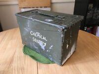 Green ammunition box