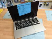 "Macbook A1502 13"" Late 2013 Intel Core i5 @2.5GHz 4GB 120GB SSD HD £679"