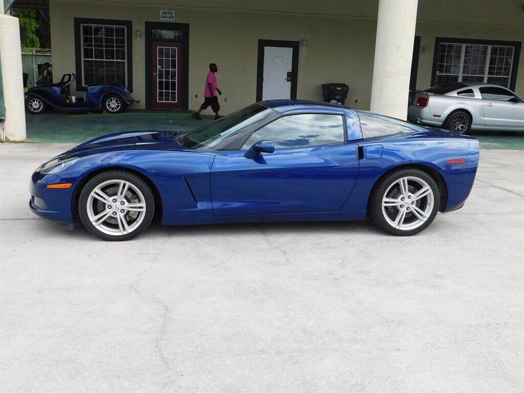 2005 Blue Chevrolet Corvette   | C6 Corvette Photo 3