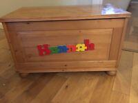 URGENT! Pine wood toy box/chest