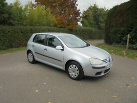 2005/05 VOLKSWAGON GOLF 1.4 FSI S NEW CAMBELT & WATERPUMP, 1 LADY OWNER FROM NEW, FULL SERVICE HIST