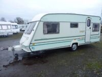 1998 ABI Delesman 520 CT 5 berth Caravan