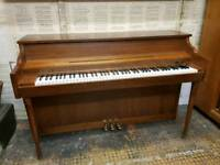 Small overstrung CAMDEN PIANO RESCUE can deliver