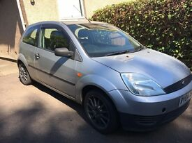 Fiesta 1.2ltr lx good condition.