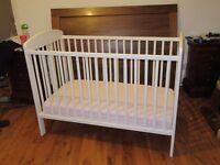 Cot and mattress (Mamas and papas)
