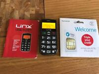 Lynx Big Button Mobile Phone