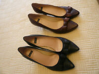x2 Pairs of Brand New Never Worn Bertie Shoes Size 39 (UK size 5 / 6)