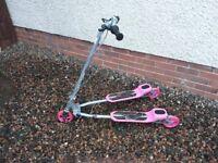 Zoom Zip Scooter - Pink