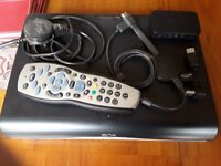 Sky HD box and accessories