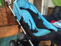 Norton buggy, great condition. With safety bar, rain cover etc