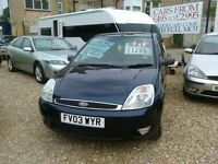 ford fiesta 1.4 4 door hatch back one owner from new