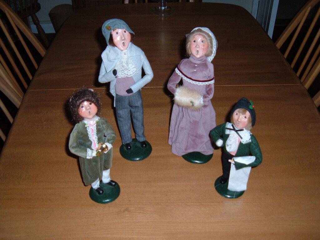 Decorative Set Of Repro Victorian Carol Singers In Stowmarket