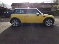 "2002 MINI COOPER 1.6 CHILLI PAN ROOF 1/2 LEATHER 17"" COOPER S ALLOYS QUICK SALE MOT 03/2018"