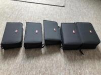 5 big dvd/cd wallets