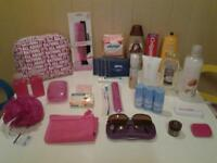 ALL NEW AND UNUSED .. 30 TRAVEL AND EVERYDAY TOILETRIES ETC..