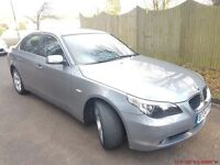 BMW 5SERIES 530D Automatic diesel 4dr 2004 Grey GENUINE LOW MILEAGE FULL SERViCE HISTORY BMW
