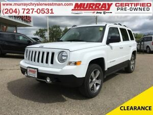 2017 Jeep Patriot High Alittude 4WD *Navigation* *Heated Leather