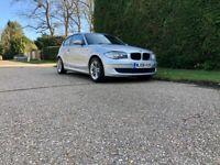 BMW 1 Series 1.6 116i ES 3dr Manual Petrol In Silver - Service History - New Mot Until April 2022
