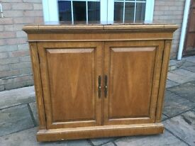 A Harrods pecan wood server cost £920 the top needs re doing but a top top quality product