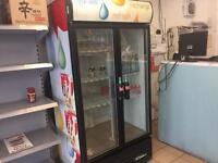 Drinks fridge , Frozen nova freezer x2 sale
