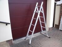 ABRU Verner 5 way combination ladder