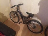 Child mountain bike it can be delever it