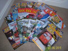 Classic Bus & similar magazines. 30+.
