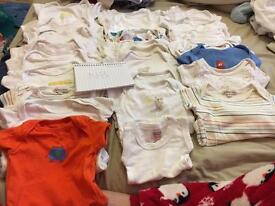 Boys newborn vests