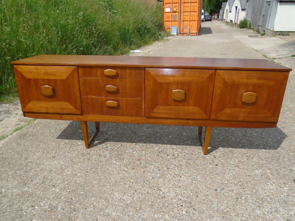 Lovely retro teak sideboard danish g plan style delivery for Coffee tables norwich