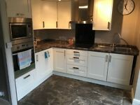 Fitted kitchen, only 2yrs old, including built-in appliances, for sale