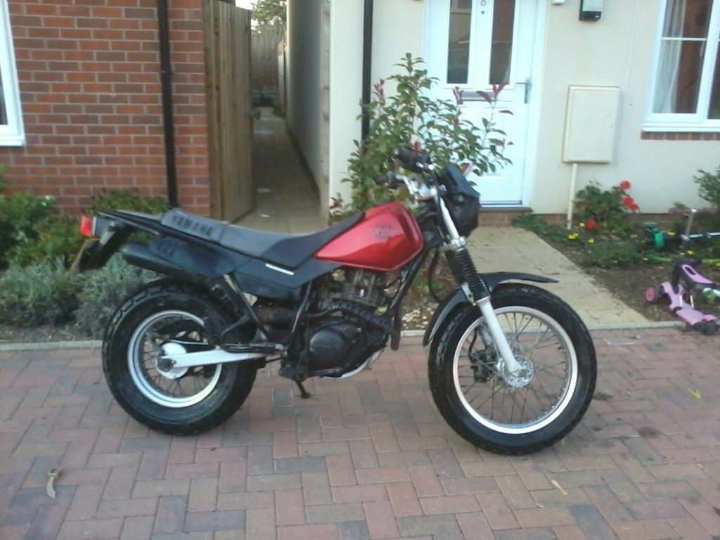 yamaha tw 125 in abingdon oxfordshire gumtree. Black Bedroom Furniture Sets. Home Design Ideas