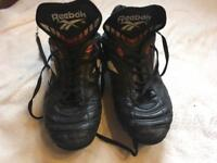 Reebok men's football trainer black size 9 used £4